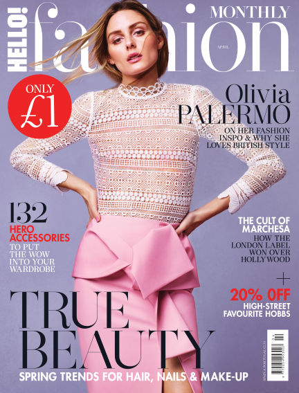 HELLO! Fashion Monthly March 07, 2017 00:00