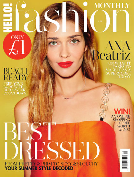 HELLO! Fashion Monthly May 02, 2017 00:00