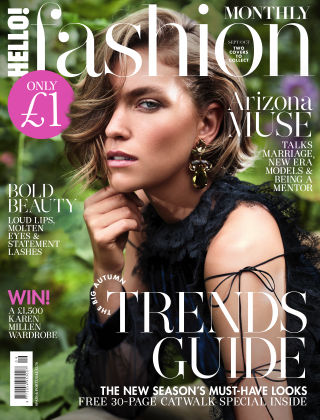 HELLO! Fashion Monthly Sept / Oct 2017
