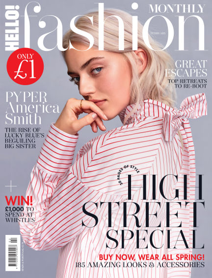 HELLO! Fashion Monthly January 09, 2018 00:00