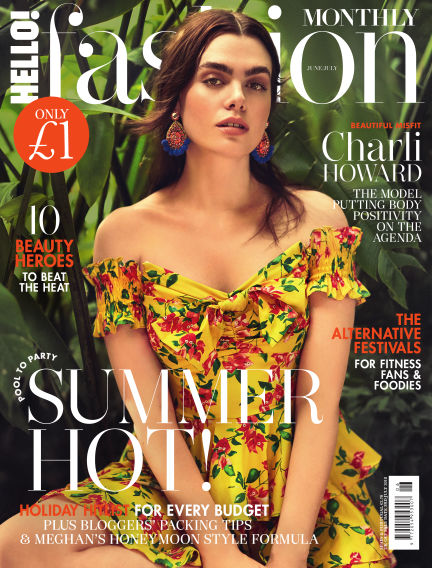 HELLO! Fashion Monthly May 08, 2018 00:00