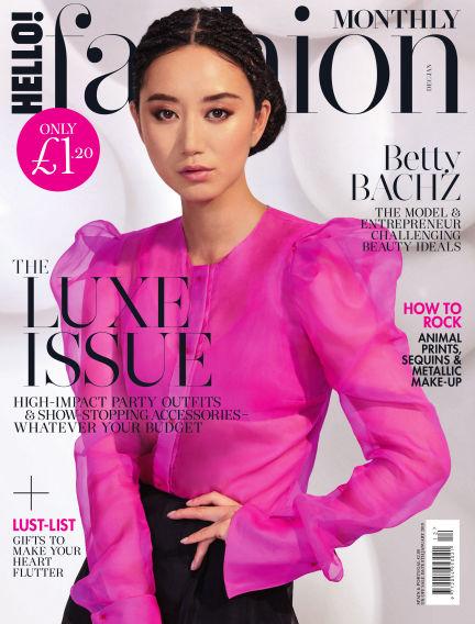 HELLO! Fashion Monthly November 06, 2018 00:00