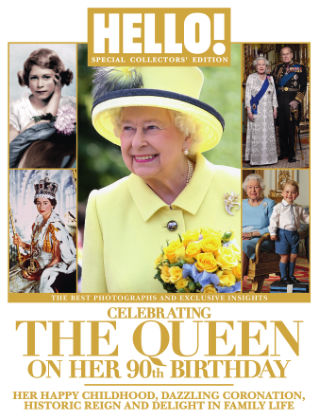 HELLO! Souvenir Editions The Queen at 90
