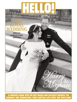 HELLO! Special Collectors' Edition, The Royal Wedding Prince Harry & Meghan Markle Issue 01