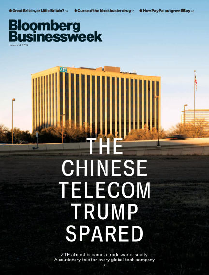 Bloomberg Businessweek Europe January 11, 2019 00:00