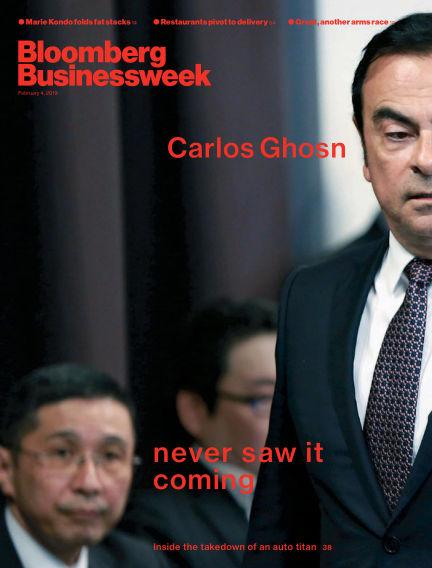 Bloomberg Businessweek Europe February 01, 2019 00:00