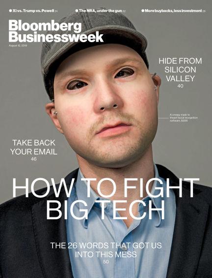 Bloomberg Businessweek Asia August 09, 2019 00:00