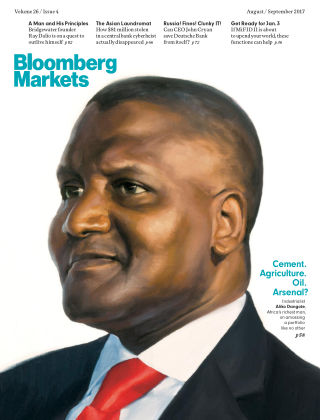 Bloomberg Markets Europe Aug-Sep 2017