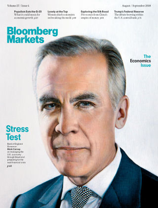 Bloomberg Markets Europe Aug-Sep 2018