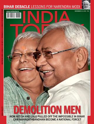 India Today 23rd November 2015