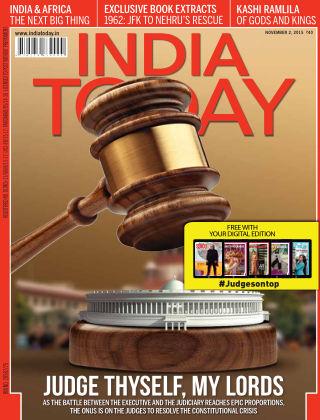 India Today 2nd November 2015