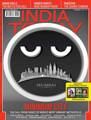 India Today 9th November 2015