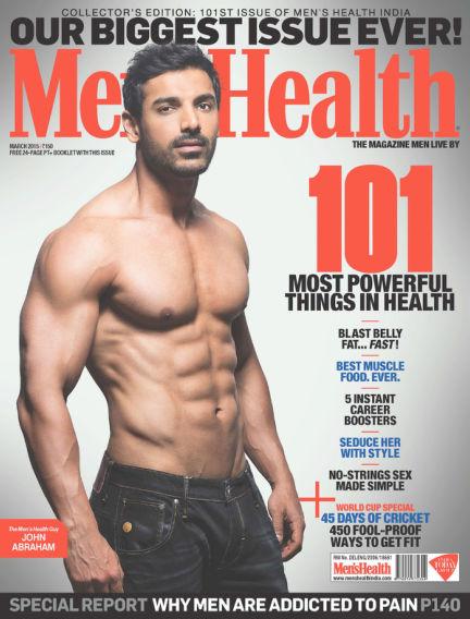 Men's Health India March 01, 2015 00:00