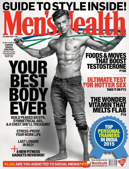 Men's Health India October 01, 2015 00:00