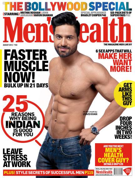 Men's Health India August 01, 2015 00:00
