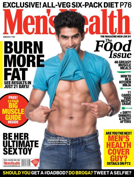 Men's Health India June 01, 2015 00:00