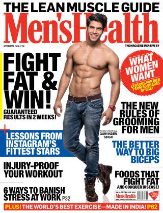 Men's Health India September 2015