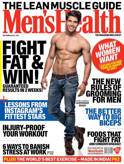 Men's Health India September 01, 2015 00:00