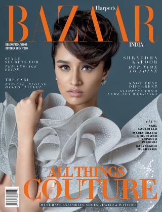 Harper's Bazaar India October 2015