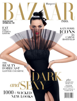 Harper's Bazaar India September 2015