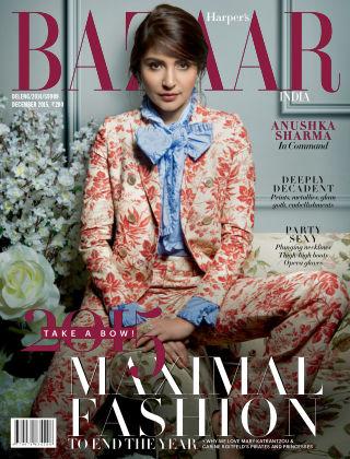 Harper's Bazaar India December 2015