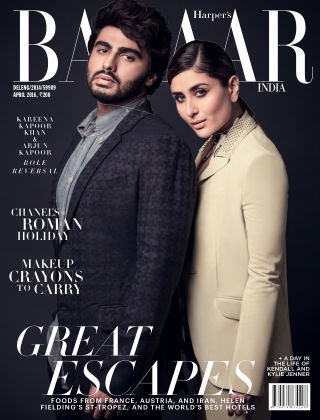 Harper's Bazaar India April 2016