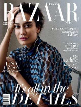 Harper's Bazaar India June 2016