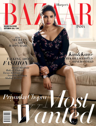 Harper's Bazaar India September 2016