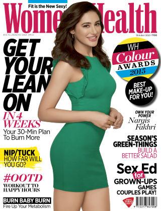 Womens Health India October 2015