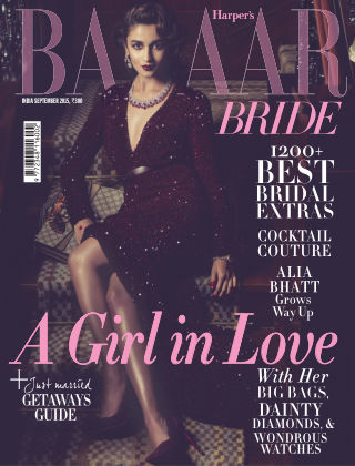Harper's Bazaar Bride September 2015