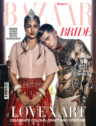 Harper's Bazaar Bride May 2016