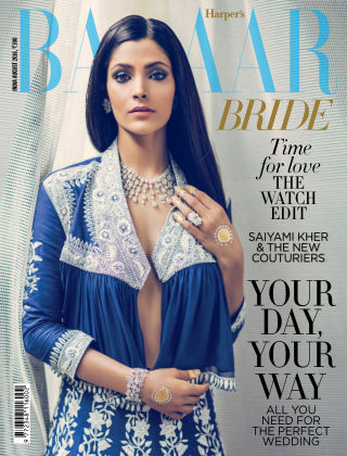 Harper's Bazaar Bride August 2016