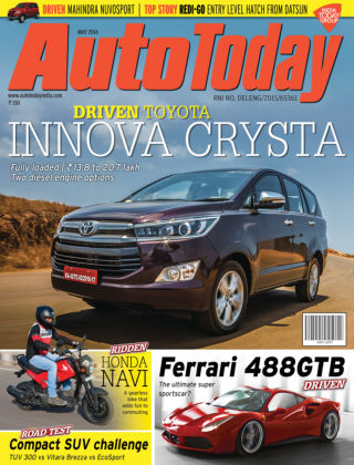 Auto Today May 2016