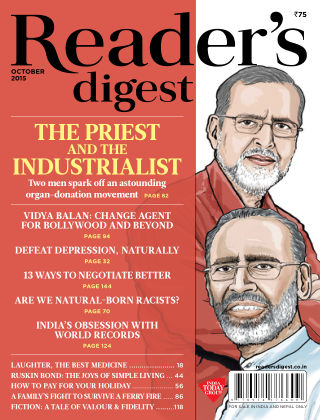 Reader's Digest India October 2015