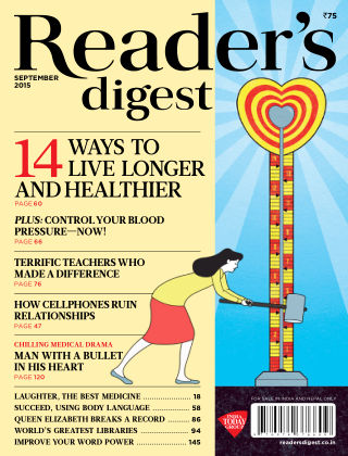 Reader's Digest India September 2015