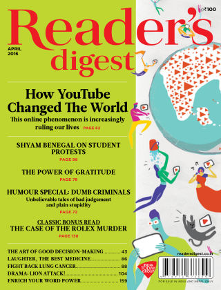 Reader's Digest India April 2016