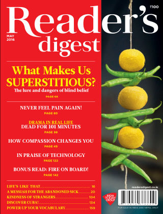 Reader's Digest India May 2016