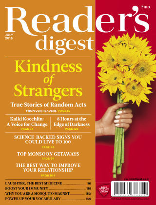 Reader's Digest India July 2016