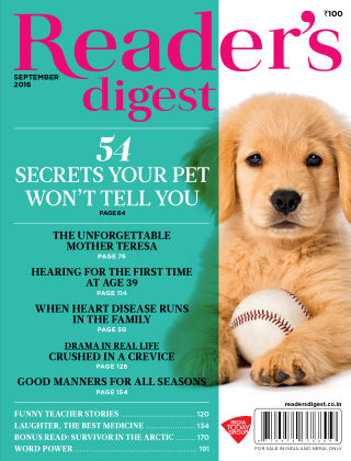 Reader's Digest India September 2016
