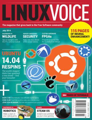 Linux Voice July 2014
