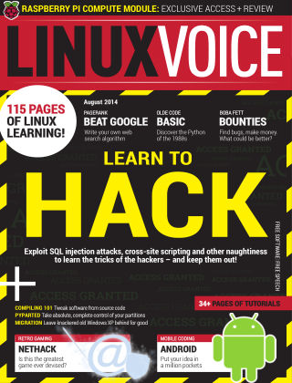 Linux Voice August 2014