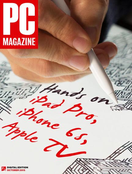 PC Magazine September 25, 2015 00:00