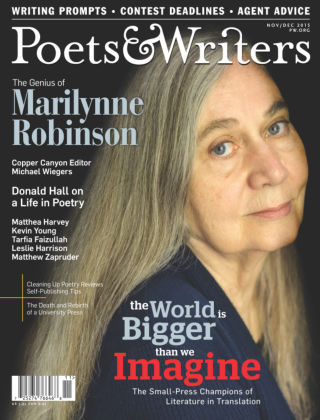 Poets & Writers Nov / Dec 2015