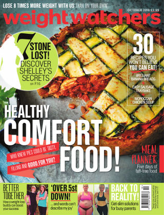 WW Magazine (Weight Watchers reimagined) October 2016