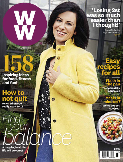 WW Magazine (Weight Watchers reimagined) January 24, 2019 00:00