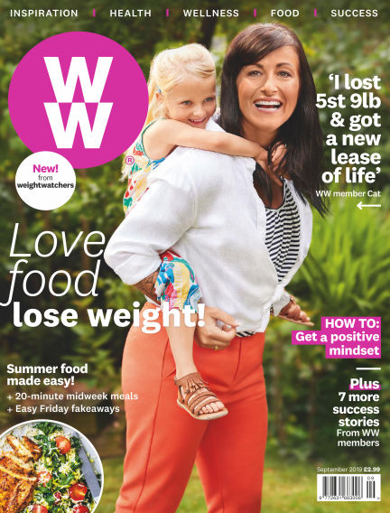 WW Magazine (Weight Watchers reimagined) August 01, 2019 00:00
