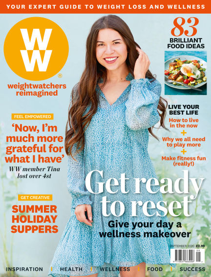 WW Magazine (Weight Watchers reimagined) August 06, 2020 00:00