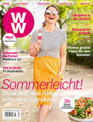 WW Deutschland Magazine (Weight Watchers reimagined) Aug:Sept 2019