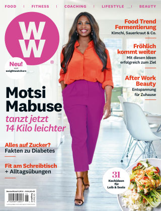 WW Deutschland Magazine (Weight Watchers reimagined) Okt:Nov 2019