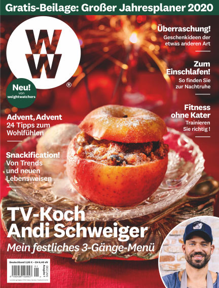 WW Deutschland Magazine (Weight Watchers reimagined) November 06, 2019 00:00